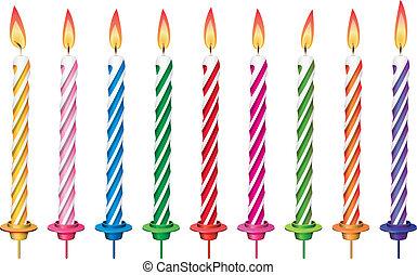 초, 생일, 다채로운