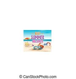 최선, 여름 휴가, 표제, 낱말