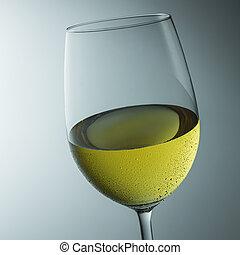 추위, 포도주 잔, 와, 이슬