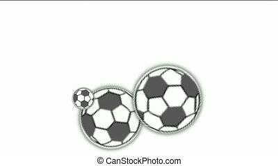 축구, balls.