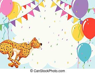 치타, 생일, 본뜨는 공구
