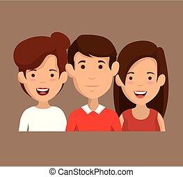 친구의 그룹, 특성