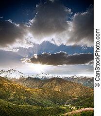 칠레, andes