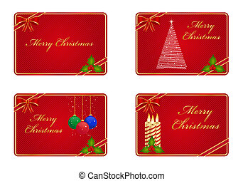 카드, 크리스마스, 인사