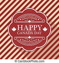 캐나다 일, 포스터