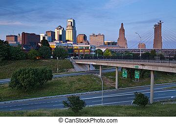 캔자스, city.