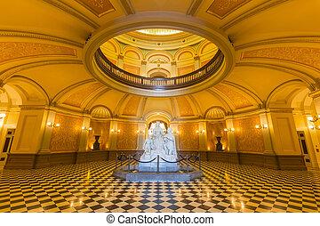 캘리포니아, 국회 의사당, 원형건물