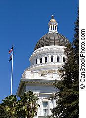 캘리포니아, 미 국회의사당 돔