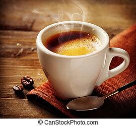 커피, espresso., 컵