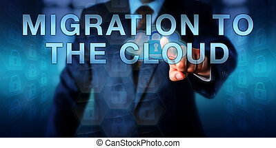 컨설턴트, 압착하기, 이동, 에, 그만큼, 구름