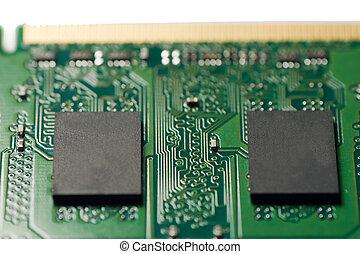 컴퓨터 메모리, 칩