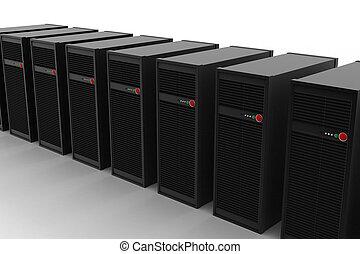 컴퓨터 서버, 네트워크