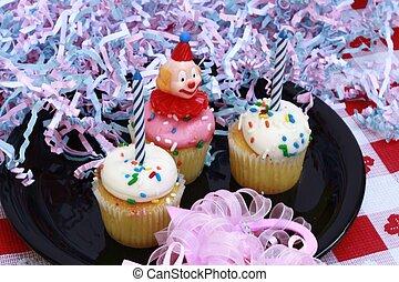 컵케이크, 생일 축하합니다