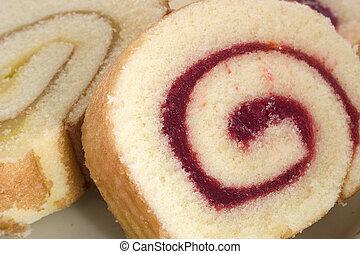 케이크, 디저트