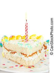 케이크 박편, 생일