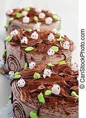 케이크, 생일, 초콜릿 과자