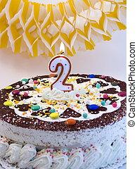 케이크, 생일, 5