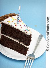 케이크, 양초