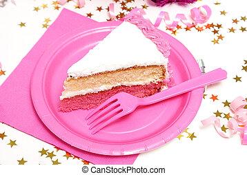 케이크 조각, 생일