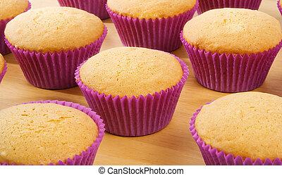 케이크, 컵