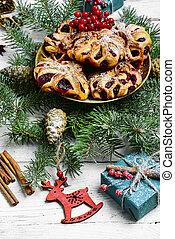 쿠키, 빵 굽기, 크리스마스
