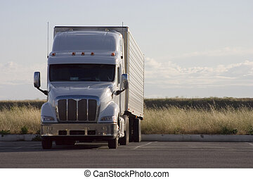 크게, 2, 트럭, 의장