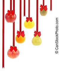 크리스마스, 과일