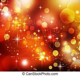 크리스마스, 배경., 휴일, 떼어내다, 직물