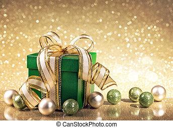 크리스마스 선물, 상자