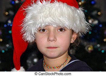 크리스마스, 소녀