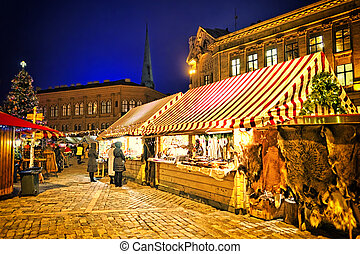 크리스마스, 시장, european