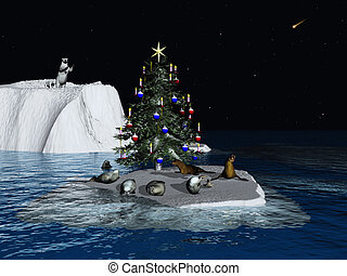 크리스마스, 에, 그만큼, 북극
