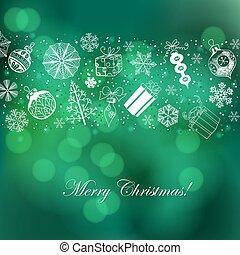 크리스마스 휴일, 배경