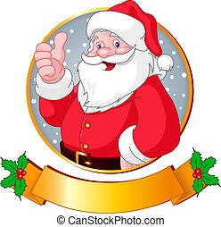 크리스마스, santa