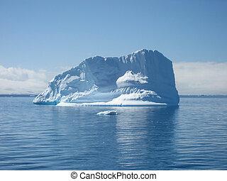 큰, 남극, 빙산
