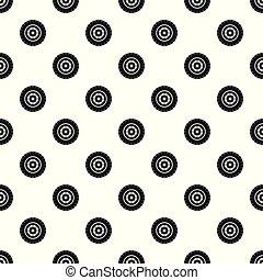 타이어, 패턴, seamless, 벡터