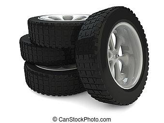타이어, 1