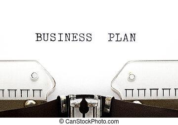 타이프라이터, 비즈니스 계획