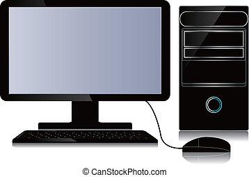 탁상용 컴퓨터