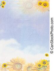 태양, 서류상 꽃