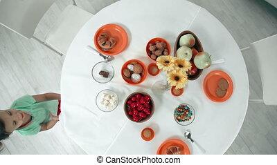테이블, unsetting