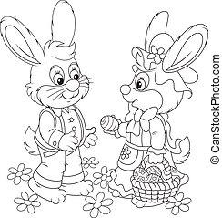 토끼, 부활절