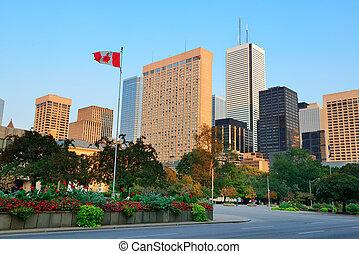 토론토, 거리, 보이는 상태