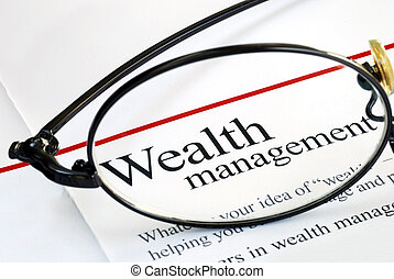 투자, 통화 관리, 부, 초점