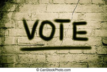 투표, 개념