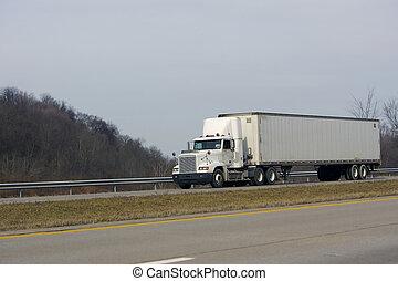 트럭, 세미트레일러