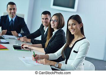 특수한 모임, 사무실, 사람