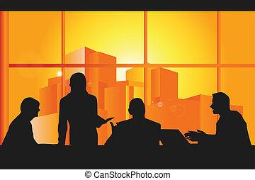 특수한 모임, 사업