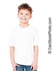 티셔츠, 소년