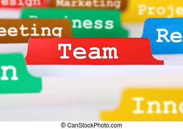 팀, 또는, 팀웍, 사무실, 원본, 통하고 있는, 기록부, 에서, 사업, 서비스, 문서